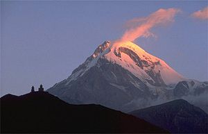 Mount Kazbek - Mount Kazbek