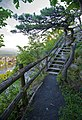 Mohonk Mountain House 2011 Hiking Trail against Guest Rooms FRD 3278.jpg