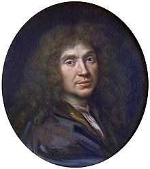 Portrait de Molière par Pierre Mignard