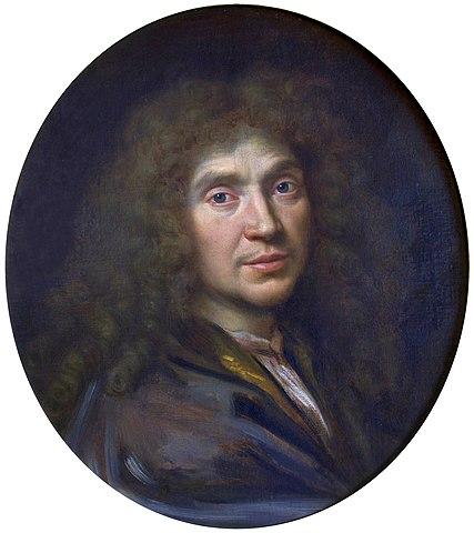 Портрет Мольера. 1658кисти Пьера Миньяра