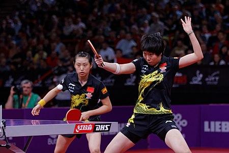 Mondial Ping - Women's Doubles - Final - 31