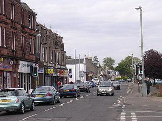 Monifieth town in Angus, Scotland