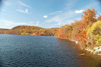 Monksville Reservoir - Image: Monksville Reservoir New Jersey in autumn (1911792206)