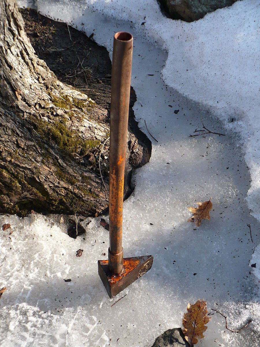 Самодельный клин для сваливания дерева - Изобретения 45