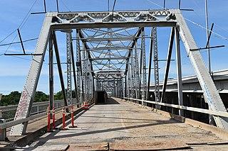 Montopolis Bridge Historic bridge in Austin, Texas