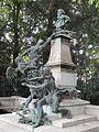 Monument à Delacroix, Jardin du Luxembourg, 13 July 2015.jpg