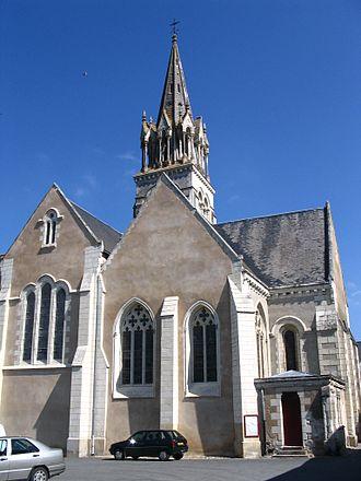 Morannes-sur-Sarthe - The church of Morannes