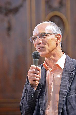 Jean-Paul C. Montagnier - Jean-Paul C. Montagnier lecturing at the Morez Parish Church (France), 16 August 2015