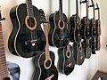 Morgan hand-crafted guitars at Sagvåg skule primary school in Stord, Norway, photo 2018-03-06 IMG 5676.jpg