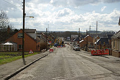 Morningside Road, Morningside - South West View - Construction Work - geograph.org.uk - 771125.jpg