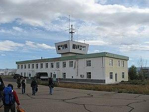 Mörön - Image: Moron airport Mongolia