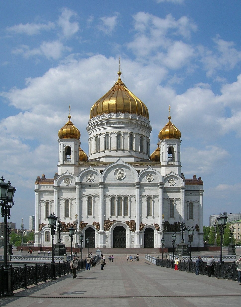 Moscow - Cathedral of Christ the Saviour