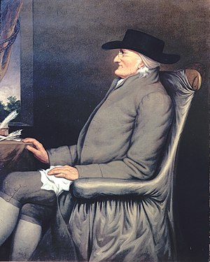Moses Brown - Moses Brown in later life. Portrait by Martin Johnson Heade