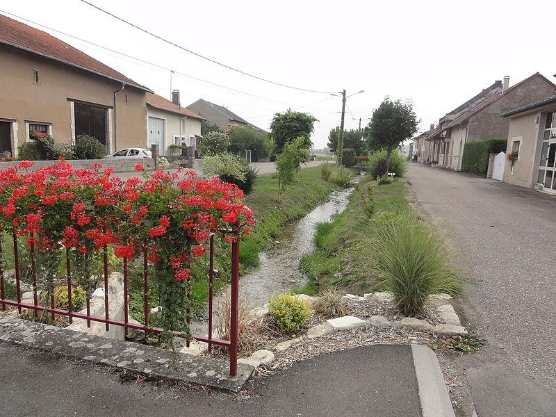 Moulainville (Meuse) Rue Basse (est)
