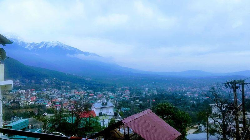 File:Mount kailash view (himalayan view) , Dharamshala.jpg