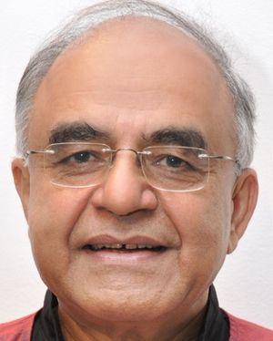 Gurcharan Das - Image: Mr GD at New Delhi