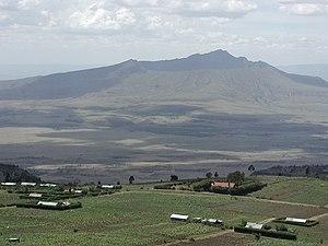 Mount Longonot - Image: Mt Longonot 1
