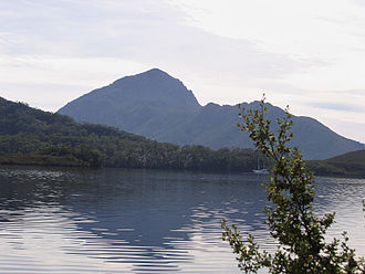 Kent Land District, Tasmania - Much of the area is part of the South West Wilderness, such as Bathurst Harbour shown here