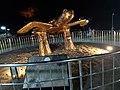 Muğla, dalyan, kordon deniz kaplumbağası heykeli3.jpg