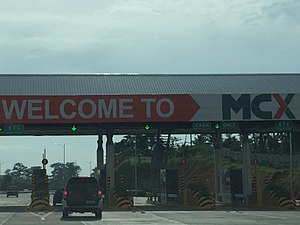 Muntinlupa–Cavite Expressway - Muntinlupa–Cavite Expressway Toll Plaza