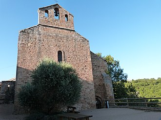 Saint-Marcel-Campes - The church of Saint-Michel, in Saint-Marcel-Campes
