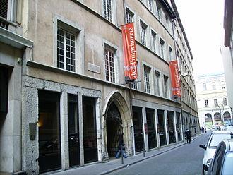 Musée de l'Imprimerie - Entrance of the museum
