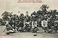 Musiciens et danseurs-Région de Pahou (Dahomey).jpg
