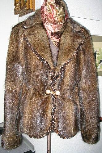 Muskrat - Muskrat fur coat