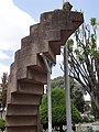 Mussolini's Stairway to Nowhere - Outside Institute of Ethiopian Studies (Ethnographic Museum) - Addis Ababa University - Addis Ababa - Ethiopia (8667491071).jpg
