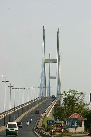 Mỹ Thuận Bridge - The bridge.