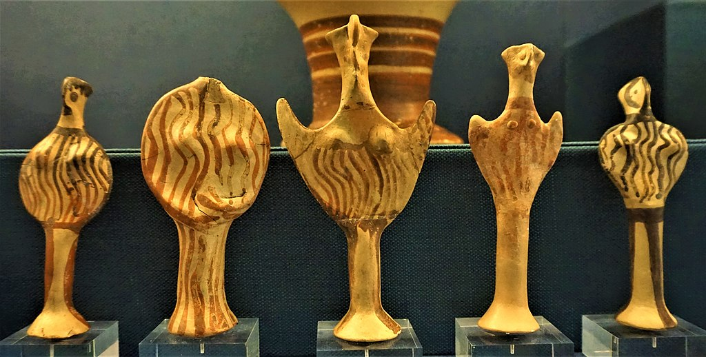 Mycenaean Female Figurines of 'Phi' and 'Psi' Type