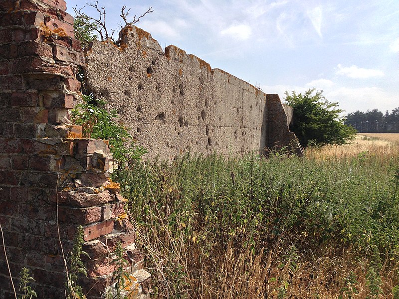 File:Mystery Bullet-Ridden Wall - panoramio (1).jpg