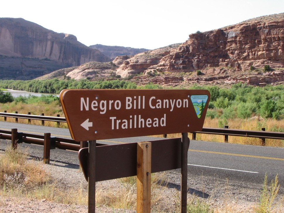 N-word Bill Canyon sign