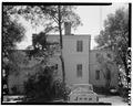 NORTH (REAR) ELEVATION - John Cuthbert House, 1203 Bay Street, Beaufort, Beaufort County, SC HABS SC,7-BEAUF,18-3.tif