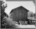 NORTH FRONT AND EAST SIDE; VIEW TO SOUTH - Zion National Park, Pioneer Cabin, Springdale, Washington County, UT HABS UTAH,27-SPDA.V,7J-1.tif