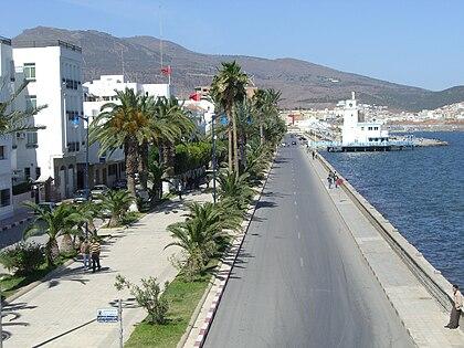 Front de mer de Nador en 2007