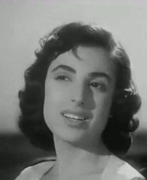Najat Al Saghira - Nagat El Saghira in the 1958 film Ghariba