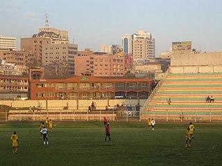 Nakivubo Stadium Building in Uganda