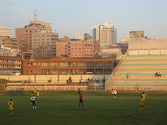 2012 CECAFA Cup - A view of the Nakivubo Stadium, which was to host 2 matches during the course of the tournament.