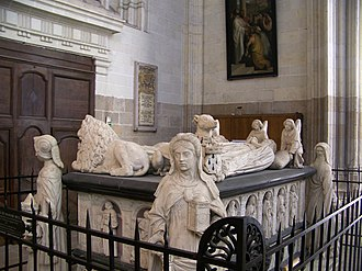 Tomb of Francis II, Duke of Brittany - The tomb