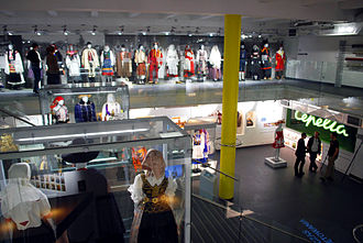 National Museum of Ethnography - The National Museum of Ethnography in Warsaw - Polish folk costume permanent exhibition