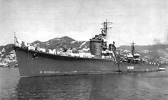 Japanese destroyer Natsuzuki - Natsuzuki
