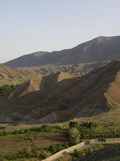 Nishapur City in Razavi Khorasan Province, Iran