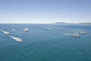 Navy fleet concentration in the Cook Strait - Flickr - NZ Defence Force.jpg