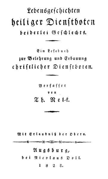 File:Nelk Lebensgeschichten heiliger Dienstboten.djvu
