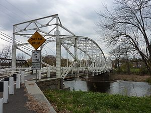 Branchburg, New Jersey - Bridge in Neshanic Station