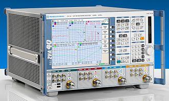 Network analyzer (electrical) - ZVA40 vector network analyzer from Rohde & Schwarz.