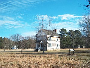 Cherokee - Cherokee National Council building, New Echota