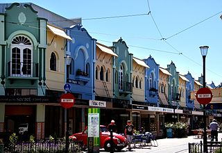 Christchurch City in the South Island of New Zealand