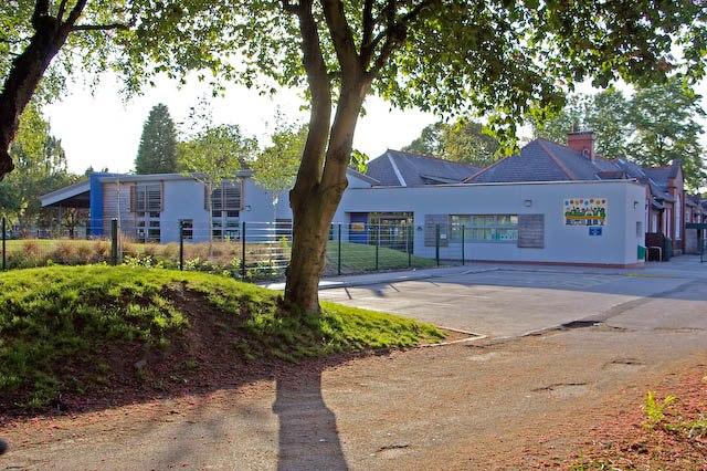 New building at Chorlton Park Primary School - geograph.org.uk - 447442